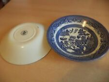 Porcelain/China Tableware Willow Pattern Transfer Ware Pottery
