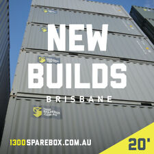 20FT QUALITY NEW BUILD | Shipping containers + lockbox  - Brisbane