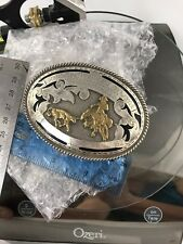 Gorgeous Sterling Silver Horse Show Buckle 76 gms