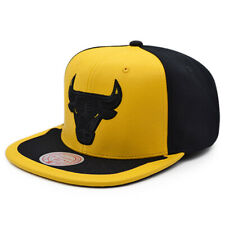 Chicago Bulls Mitchell & Ness JORDAN DAY ONE Snapback NBA Hat - Yellow/Black