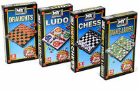CHESS SNAKES & LADDERS DRAUGHT LUDO MAGNETIC MINI GAME TOY KID BORED HOME SCHOOL