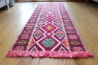 70 x 200 cm Läufer,Orientalischer Teppich,Rug, Kelim,neu ,Damaskunst S 1-3-45