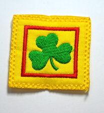 SHAMROCK IRISH ST.PATRICK  Embroidered Sew Iron On Cloth Patch Badge APPLIQUE