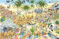 NEW! Jumbo The Oasis by Jan van Haasteren 1500 piece cartoon jigsaw puzzle