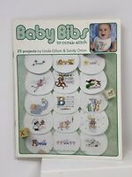 Baby Bibs To Cross Stitch 25 Patterns Linda Gillum Sandy Orton Monkey Elephant