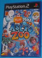 Eyetoy Play - Astro Zoo - Sony Playstation 2 PS2 - PAL New Nuovo Sealed