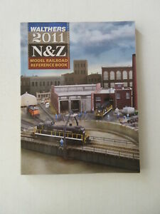 Walthers 2011 N & Z Model Railroad Reference BOOK Color Photos Buildings Train