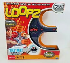 Loopz Memory Game Radica Mattel New in Box 7 Ways to Play Single Multi Players