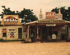 Crossroads store gas station 'Juke Joint' Melrose Louisiana 1940 -  8x10 Photo