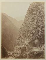 Algeria Montagne Vintage Albumina, Ca 1880