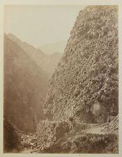 Algérie Montagnes Vintage albumine, ca 1880