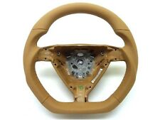 Porsche 997 987 boxster cayman carrera Sand Beige leather steering wheel