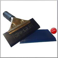 """Raclette """" BLUE MAX """"+ une lame offerte manche métal outil pose solaire covering"""