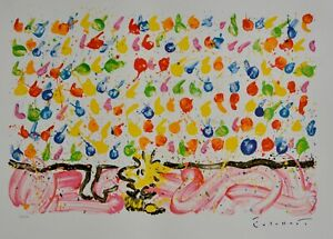 "Tom Everhart ""TWEET TWEET""  ""SNOOPY"" ""PEANUTS"" Lithograph Signed/Numbered + COA!"