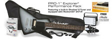 Epiphone pro-1 Explorer Pack Silver Burst Electric Guitar + Amp + Accessories