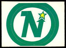 1972 73 OPC O PEE CHEE Insert Minnesota North Stars TEAM LOGOS NM NO INSTRUCTION