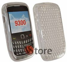 Cover Case Gel Clear for Blackberry Curves 9300 3G Silicone