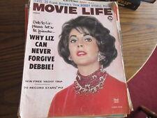 Movie Life vintage Magazine August 1960