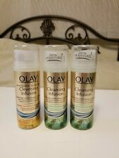 Lot 3 Olay Cleansing Infusion Hydrating Cleanser With Seal Kelp and Aloe Extract