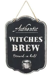 Witches Brew Wooden Sign   (W35)