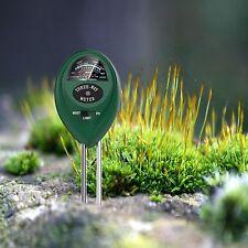Dr.meter Soil Moisture Meter Indoor Outdoor Sunlight PH Acidity 3-in-1 Soil Test