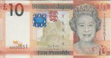 Jersey Banknote P34a 10 Pounds Series D (2010), UNC