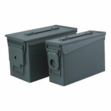 High Desert 2 Pack Metal Ammo Cans - .30 Cal & .50 Cal storage container