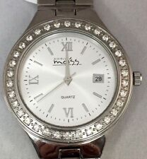 1ct Moissanite 130723GEN stainless steel watch Unisex