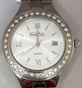 1ct Moissanite 130723GEN stainless steel watch Unisex