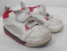 67ac69577f9 NIKE Jordan Flight 9 Toddler Basketball Shoe White Black Varsity Red size 6C