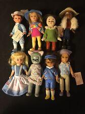 "Madame Alexander 4"" Dolls Lot Of 8 Made For McDonalds"