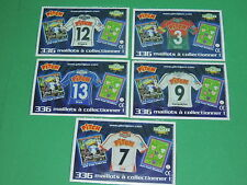 Magnet equipe Coupe de France Just Foot Pitch 2009 maillot football CDF lot #36