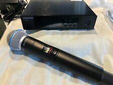 Shure QLXD24 B58 Beta Handheld Mic & Dynamic Digital Receiver QLXD2 QLXD4