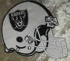 Oakland Raiders Helmet Iron On Embroidered Patch ~USA Seller~FREE Ship
