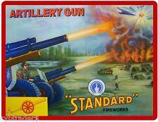 Firecracker Fireworks Artillery Image Refrigerator / Tool Box Magnet