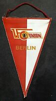 *RAR* Orig. DDR Wimpel 21 x 14 cm 1.FC Union Berlin Oberliga Fussball FCU Sport
