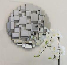 Designer Wandspiegel Mosaik 60x60 Cm Spiegel Dekospiegel