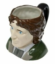 Paul McGann - The 8th Doctor Who - 3D Ceramic 'Toby' Style Collectors Mug