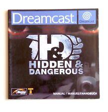 Notice Hidden & Dangerous Sega Dreamcast