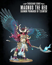 MAGNUS THE RED Thousand Sons Daemon Primarch of Tzeentch Chaos Space Marines NEW