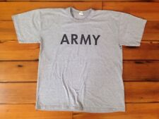 """Official US Army Physical Fitness Uniform Cotton Blend Quick Dry T-Shirt XL 47"""""""