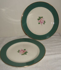 "2  Lifetime China Co. Cameo 7 1/4"" Plates"