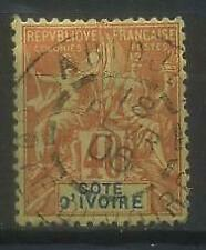 French Colonies, Cote d'Ivoire, Ivory Coast 1892 Michel 10 used