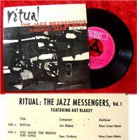 EP Art Blakey's Jazz Messengers: Ritual (Pacific Jazz)