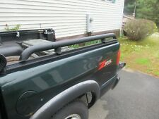 """SIDE RAILS CHEVY S10 FOUR DOOR SHORT BED  2"""" SIDE RAILS 49""""L STEEL WITH HARDWARE"""