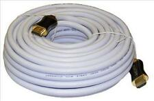 S.A.C.20m White HDMI Lead 2.0 3D/2160P Professional Cable