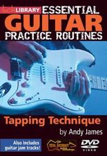 LICK LIBRARY ESSENTIAL GUITAR PRACTICE ROUTINES TAPPING TECHNIQUES MONSTER TIPS!
