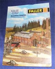 FALLER Catálogo Distribuidor De 1985