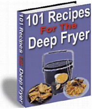 101 Recipes For Deep Fryer on CD ROM