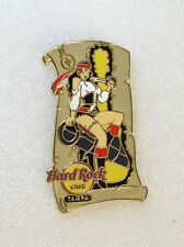 TAMPA,Hard Rock Cafe Pin,Super Sexy Pirate Girl 3 of 3, XXX